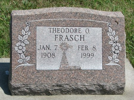 FRASCH, THEODORE O. - Gregory County, South Dakota | THEODORE O. FRASCH - South Dakota Gravestone Photos