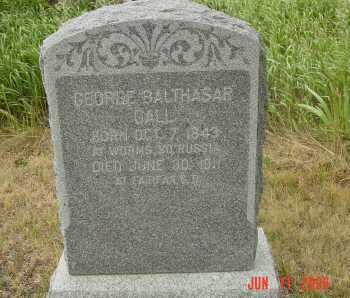 GALL, GEORGE BALTHASAR - Gregory County, South Dakota | GEORGE BALTHASAR GALL - South Dakota Gravestone Photos
