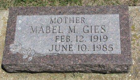 GIES, MABEL M. - Gregory County, South Dakota   MABEL M. GIES - South Dakota Gravestone Photos