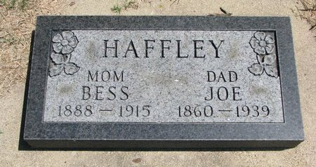 "HAFFLEY, JOSEPH ""JOE"" - Gregory County, South Dakota | JOSEPH ""JOE"" HAFFLEY - South Dakota Gravestone Photos"