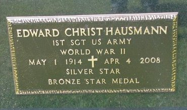 HAUSMANN, EDWARD CHRIST - Gregory County, South Dakota | EDWARD CHRIST HAUSMANN - South Dakota Gravestone Photos