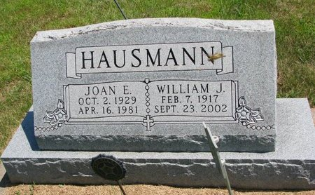 HAUSMANN, WILLIAM J. - Gregory County, South Dakota | WILLIAM J. HAUSMANN - South Dakota Gravestone Photos