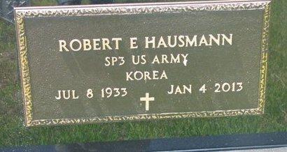 HAUSMANN, ROBERT E. (MILITARY) - Gregory County, South Dakota | ROBERT E. (MILITARY) HAUSMANN - South Dakota Gravestone Photos