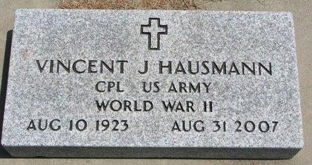 HAUSMANN, VINCENT J. - Gregory County, South Dakota | VINCENT J. HAUSMANN - South Dakota Gravestone Photos