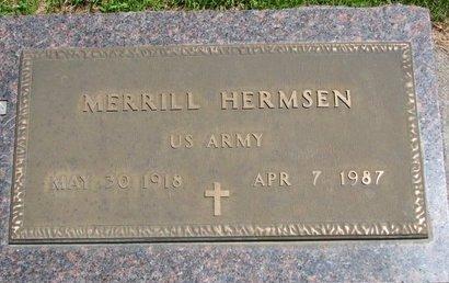 HERMSEN, MERRILL - Gregory County, South Dakota | MERRILL HERMSEN - South Dakota Gravestone Photos