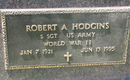 HODGINS, ROBERT A. (MILITARY) - Gregory County, South Dakota | ROBERT A. (MILITARY) HODGINS - South Dakota Gravestone Photos