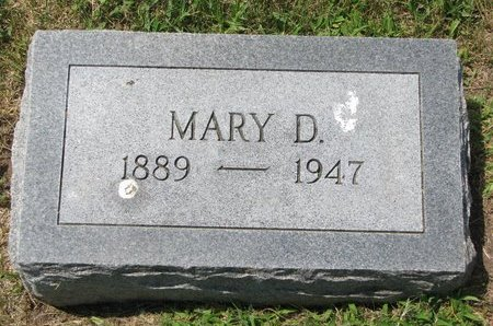 "PETERS HOPPE, MARIA ANNA DOROTHEA ""MARY"" - Gregory County, South Dakota 