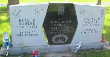 KAHLER, KIRK RYAN - Gregory County, South Dakota   KIRK RYAN KAHLER - South Dakota Gravestone Photos