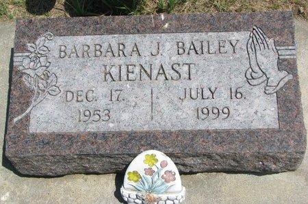 KIENAST, BARBARA J. - Gregory County, South Dakota | BARBARA J. KIENAST - South Dakota Gravestone Photos