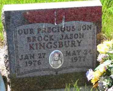 KINGSBURY, BROCK JASON - Gregory County, South Dakota   BROCK JASON KINGSBURY - South Dakota Gravestone Photos