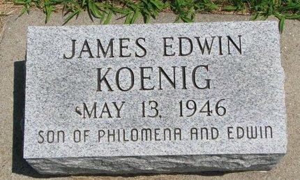 KOENIG, JAMES EDWIN - Gregory County, South Dakota | JAMES EDWIN KOENIG - South Dakota Gravestone Photos