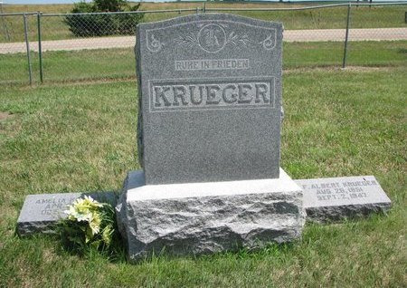 KRUEGER, *FAMILY MONUMENT - Gregory County, South Dakota | *FAMILY MONUMENT KRUEGER - South Dakota Gravestone Photos