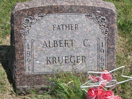 KRUEGER, ALBERT C. - Gregory County, South Dakota | ALBERT C. KRUEGER - South Dakota Gravestone Photos