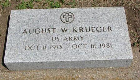 KRUEGER, AUGUST W. - Gregory County, South Dakota   AUGUST W. KRUEGER - South Dakota Gravestone Photos
