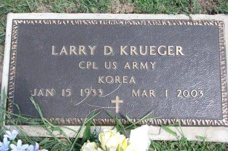 KRUEGER, LARRY D. - Gregory County, South Dakota | LARRY D. KRUEGER - South Dakota Gravestone Photos