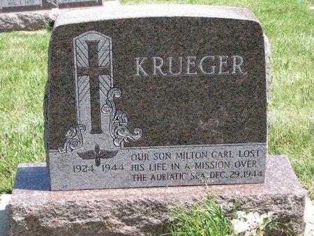 KRUEGER, MILTON CARL - Gregory County, South Dakota | MILTON CARL KRUEGER - South Dakota Gravestone Photos