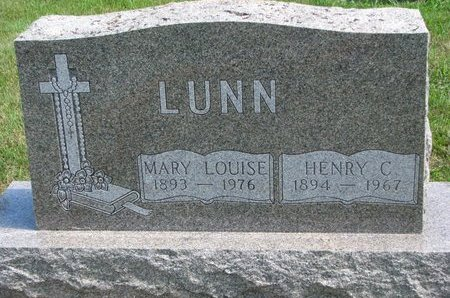 TURGEON LUNN, MARY LOUISE - Gregory County, South Dakota | MARY LOUISE TURGEON LUNN - South Dakota Gravestone Photos
