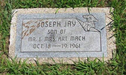 MACH, JOSEPH JAY - Gregory County, South Dakota | JOSEPH JAY MACH - South Dakota Gravestone Photos