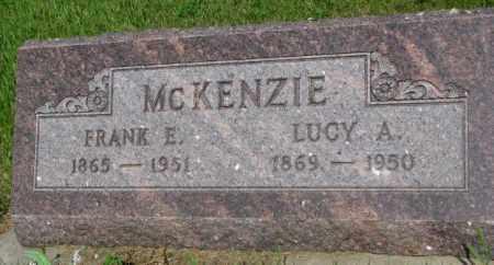 MCKENZIE, LUCY A. - Gregory County, South Dakota   LUCY A. MCKENZIE - South Dakota Gravestone Photos