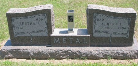 METAL, BERTHA F. - Gregory County, South Dakota | BERTHA F. METAL - South Dakota Gravestone Photos