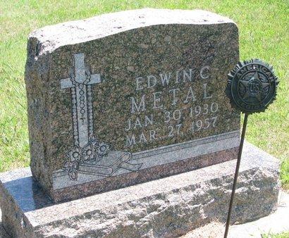 METAL, EDWIN C. - Gregory County, South Dakota | EDWIN C. METAL - South Dakota Gravestone Photos