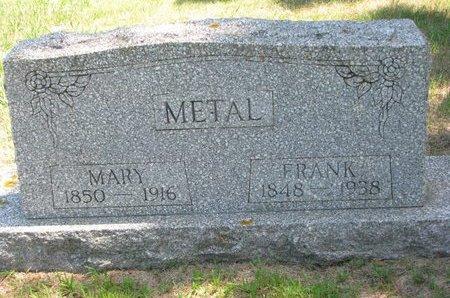 METAL, FRANK - Gregory County, South Dakota | FRANK METAL - South Dakota Gravestone Photos