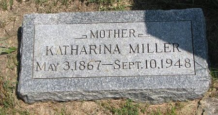 WEIDNER MILLER, KATHARINA - Gregory County, South Dakota | KATHARINA WEIDNER MILLER - South Dakota Gravestone Photos