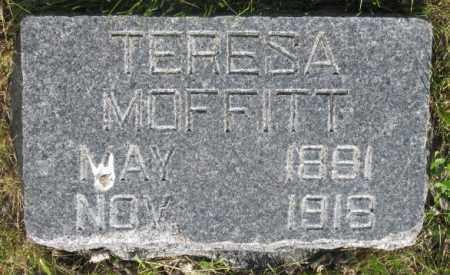 MOFFITT, TERESA - Gregory County, South Dakota | TERESA MOFFITT - South Dakota Gravestone Photos