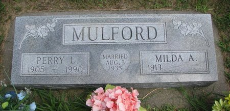 MULFORD, MILDA A. - Gregory County, South Dakota | MILDA A. MULFORD - South Dakota Gravestone Photos