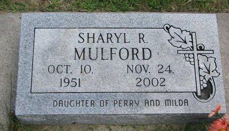 MULFORD, SHARYL R. - Gregory County, South Dakota   SHARYL R. MULFORD - South Dakota Gravestone Photos