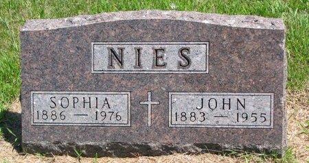 NIES, SOPHIA JULIA - Gregory County, South Dakota   SOPHIA JULIA NIES - South Dakota Gravestone Photos