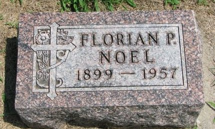 NOEL, FLORIAN P. - Gregory County, South Dakota | FLORIAN P. NOEL - South Dakota Gravestone Photos