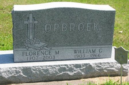 OPBROEK, FLORENCE MARIE - Gregory County, South Dakota | FLORENCE MARIE OPBROEK - South Dakota Gravestone Photos