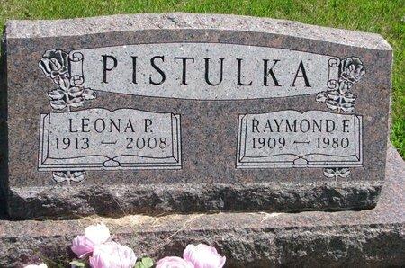 PISTULKA, LEONA PATRINILLA - Gregory County, South Dakota   LEONA PATRINILLA PISTULKA - South Dakota Gravestone Photos