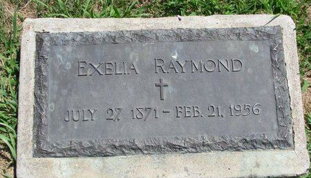 RAYMOND, EXELIA - Gregory County, South Dakota | EXELIA RAYMOND - South Dakota Gravestone Photos