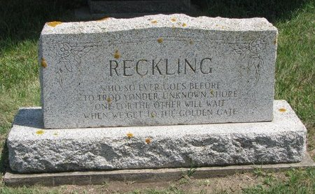 RECKLING, *FAMILY MONUMENT - Gregory County, South Dakota | *FAMILY MONUMENT RECKLING - South Dakota Gravestone Photos