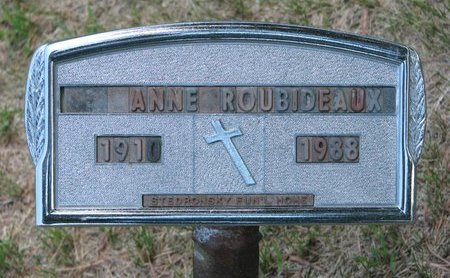 ROUBIDEAUX, ANNE - Gregory County, South Dakota | ANNE ROUBIDEAUX - South Dakota Gravestone Photos