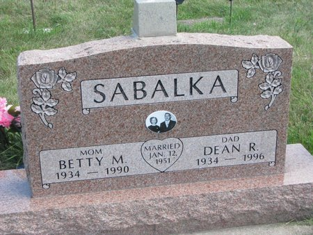 SABALKA, BETTY MAE - Gregory County, South Dakota | BETTY MAE SABALKA - South Dakota Gravestone Photos