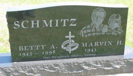 SCHMITZ, BETTY A. - Gregory County, South Dakota | BETTY A. SCHMITZ - South Dakota Gravestone Photos