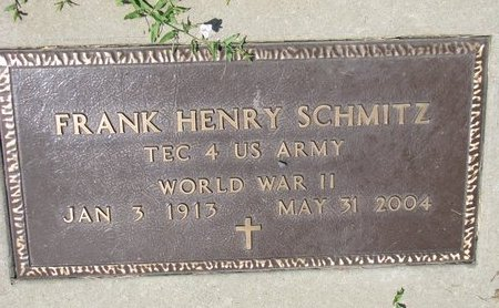 SCHMITZ, FRANK HENRY (MILITARY) - Gregory County, South Dakota | FRANK HENRY (MILITARY) SCHMITZ - South Dakota Gravestone Photos
