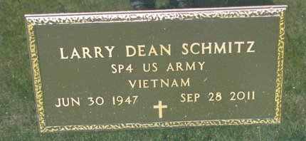 SCHMITZ, LARRY DEAN (MILITARY) - Gregory County, South Dakota | LARRY DEAN (MILITARY) SCHMITZ - South Dakota Gravestone Photos