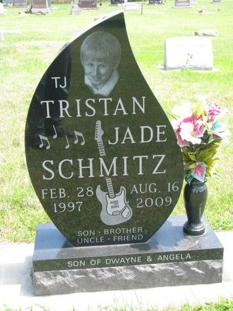 "SCHMITZ, TRISTAN JADE ""T.J."" - Gregory County, South Dakota | TRISTAN JADE ""T.J."" SCHMITZ - South Dakota Gravestone Photos"