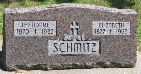 HAUSMANN SCHMITZ, ELIZABETH - Gregory County, South Dakota | ELIZABETH HAUSMANN SCHMITZ - South Dakota Gravestone Photos