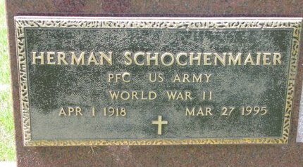 SCHOCHENMAIER, HERMAN (MILITARY) - Gregory County, South Dakota | HERMAN (MILITARY) SCHOCHENMAIER - South Dakota Gravestone Photos