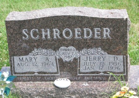 SCHROEDER, JERRY D. - Gregory County, South Dakota | JERRY D. SCHROEDER - South Dakota Gravestone Photos