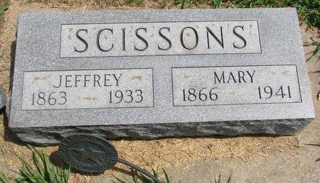 SCISSONS, JEFFREY - Gregory County, South Dakota | JEFFREY SCISSONS - South Dakota Gravestone Photos