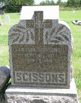 SCISSONS, LILLIAN - Gregory County, South Dakota | LILLIAN SCISSONS - South Dakota Gravestone Photos