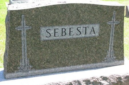SEBESTA, *FAMILY MONUMENT - Gregory County, South Dakota | *FAMILY MONUMENT SEBESTA - South Dakota Gravestone Photos
