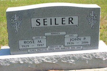 SEILER, JOHN P. - Gregory County, South Dakota | JOHN P. SEILER - South Dakota Gravestone Photos