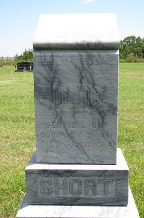 SHORT, BERTIE - Gregory County, South Dakota | BERTIE SHORT - South Dakota Gravestone Photos